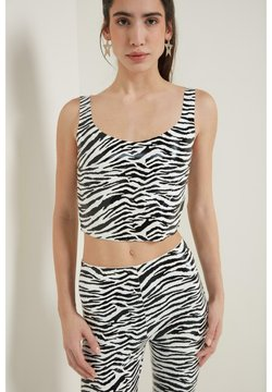 Tezenis - Top - bianco st.zebra