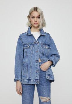 PULL&BEAR - Veste en jean - dark blue