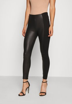 Even&Odd - COMBINED LEGGINGS - Leggings - Hosen - black