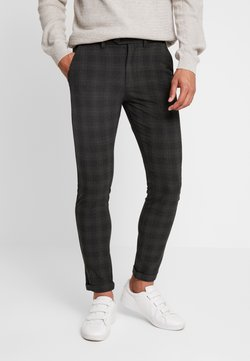 Jack & Jones PREMIUM - JJIMARCO JJCONNOR CHECK - Chinot - dark grey