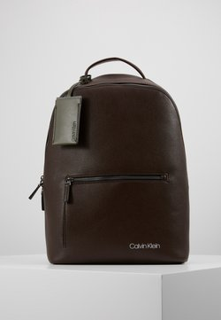 Calvin Klein - POCKET  BACKPACK - Reppu - black