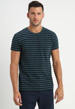 Samsøe Samsøe - PATRICK - T-Shirt print - dark spruce blue