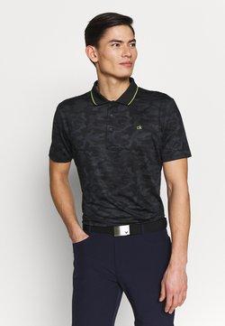 Calvin Klein Golf - CAMO PRO - Funktionsshirt - black/silver