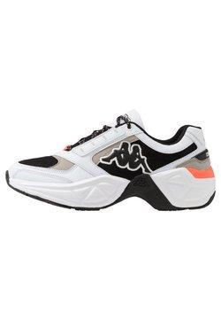 Kappa - KRYPTON - Sportschoenen - white/black