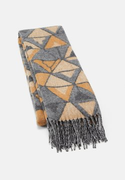 Johnstons of Elgin - GEOMETRIC SCARF  - Szal - beige