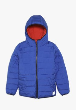 Superdry - REVERSIBLE FUJI - Talvitakki - fire orange/cobalt