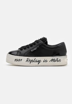 Replay - VANILLA VIRDEN - Sneaker low - black