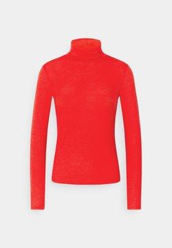 Gina Tricot - GIANNA POLO - Langærmede T-shirts - racing red