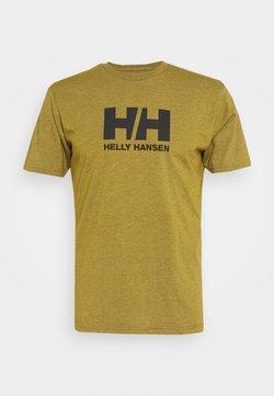 Helly Hansen - LOGO - Camiseta estampada - uniform green melange