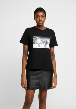 Vero Moda - VMPULPFICTION - T-Shirt print - black