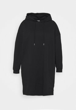 Pieces Curve - PCCHILLI RESET DRESS - Korte jurk - black/white