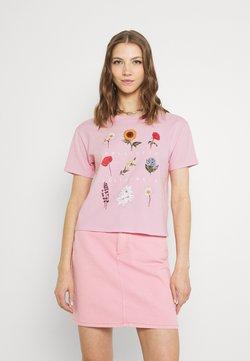 Hollister Co. - T-Shirt print - pink