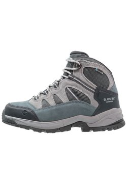 Hi-Tec - BANDERA LITE MID WP WOMENS - Hikingschuh - stormy weather/grey/skygrey