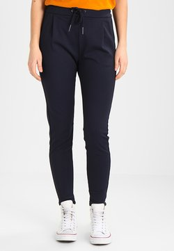 Vero Moda - VMEVA LOOSE STRING PANTS - Stoffhose - night sky
