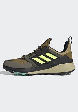 adidas Performance - DURAMO CLASSIC LIGHTMOTION RUNNING SHOES - Hikingschuh - core black/ftwr white/solar yellow