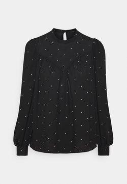 Vero Moda - VMMARLEY - Pitkähihainen paita - black/birch