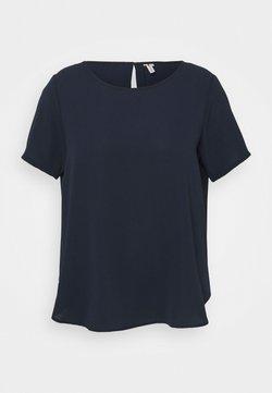ONLY Carmakoma - CARLUXINA SOLID - T-Shirt basic - night sky