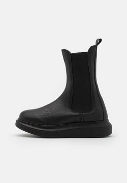 Nly by Nelly - CASUAL CHELSEA BOOT - Plateaustiefelette - black