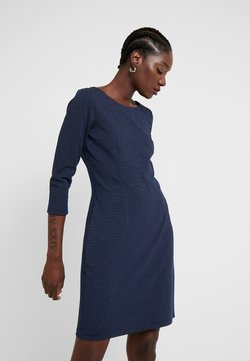 TOM TAILOR - DRESS SHIFT - Etuikleid - dark blue