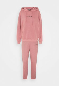 Missguided Petite - HOODY JOGGER SET - Sweatshirt - rose