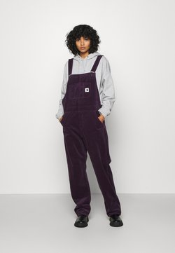 Carhartt WIP - OVERALL STRAIGHT - Tuinbroek - boysenberry