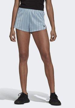 adidas Originals - STRIPED  - Shorts - blue