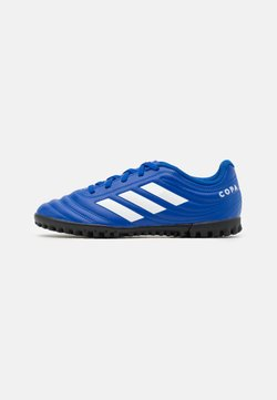 adidas Performance - COPA 20.4 FOOTBALL BOOTS TURF UNISEX - Fußballschuh Multinocken - royal blue/footwear white
