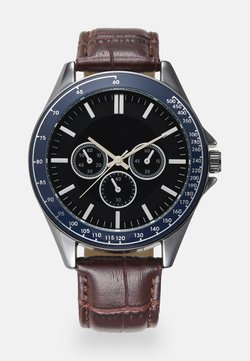 Burton Menswear London - CHUNKY WATCH - Rannekello - brown/multi