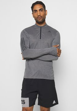 adidas Performance - AEROREADY SPORTS RUNNING LONG SLEEVE - Camiseta de deporte - black/white