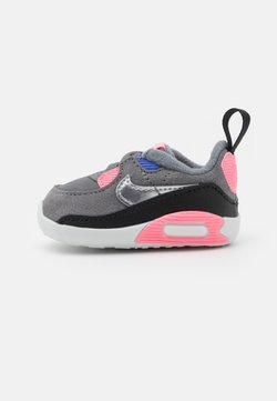 Nike Sportswear - MAX 90 CRIB - Krabbelschuh - smoke grey/metallic silver/sunset pulse