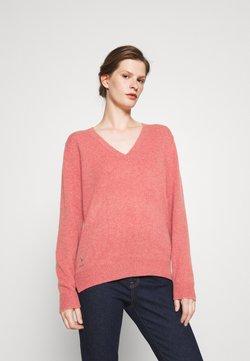 Polo Ralph Lauren - CLASSIC LONG SLEEVE - Sweter - red slate heather