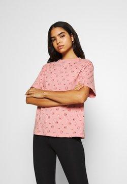 Nike Sportswear - TEE - T-Shirt print - rust pink/canyon rust