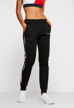 Tommy Sport - PANTS WITH FAST TAPE - Jogginghose - black