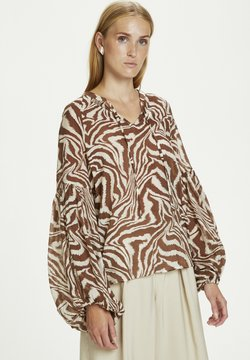 Karen by Simonsen - GAMEN - Bluse - safari zebra