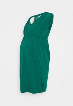 MAMALICIOUS - MLZORINA SHORT DRESS - Vestido ligero - deep teal