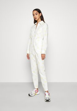 Never Fully Dressed - DAISY PRINT - Jumpsuit - cream