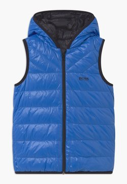 BOSS Kidswear - REVERSIBLE PUFFER - Weste - blue/black