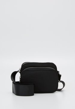 Weekday - SUND CROSSBODY BAG - Axelremsväska - black