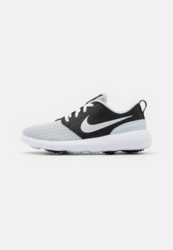 Nike Golf - ROSHE - Golfschoenen - pure platinum/pure platinum-black-white