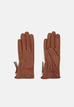 Royal RepubliQ - GROUND GLOVES TOUCH - Gloves - cognac