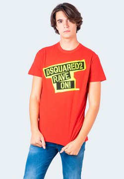 Dsquared2 - T-Shirt print - red