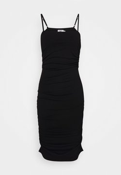 NA-KD - PAMELA REIF X NA-KD THIN STRAP DRESS - Cocktailkleid/festliches Kleid - black
