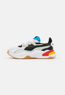 Puma - RS-2K WH - Sneakers laag - white/black