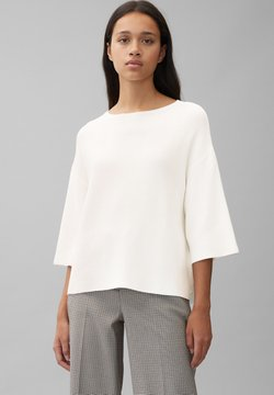 Marc O'Polo - MIT KASCHMIRWOLLE - Strickpullover - off white