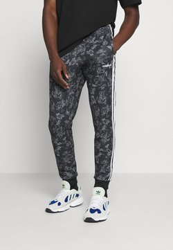 adidas Originals - GOOFY - Jogginghose - black/white