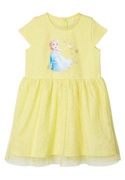 Name it - NMFFROZEN REBEC DRESS - Jerseykleid - limelight