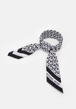 MICHAEL Michael Kors - LOGO SCARF - Foulard - black/white
