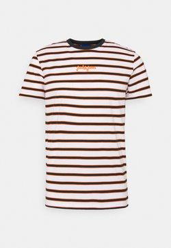 Jack & Jones - JORSALT TEE CREW NECK - T-Shirt print - white