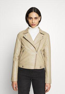 Selected Femme Tall - SLFKATIE JACKET  - Veste en cuir - cornstalk