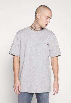 Dickies - PORTERDALE POCKET - Camiseta básica - grey melange